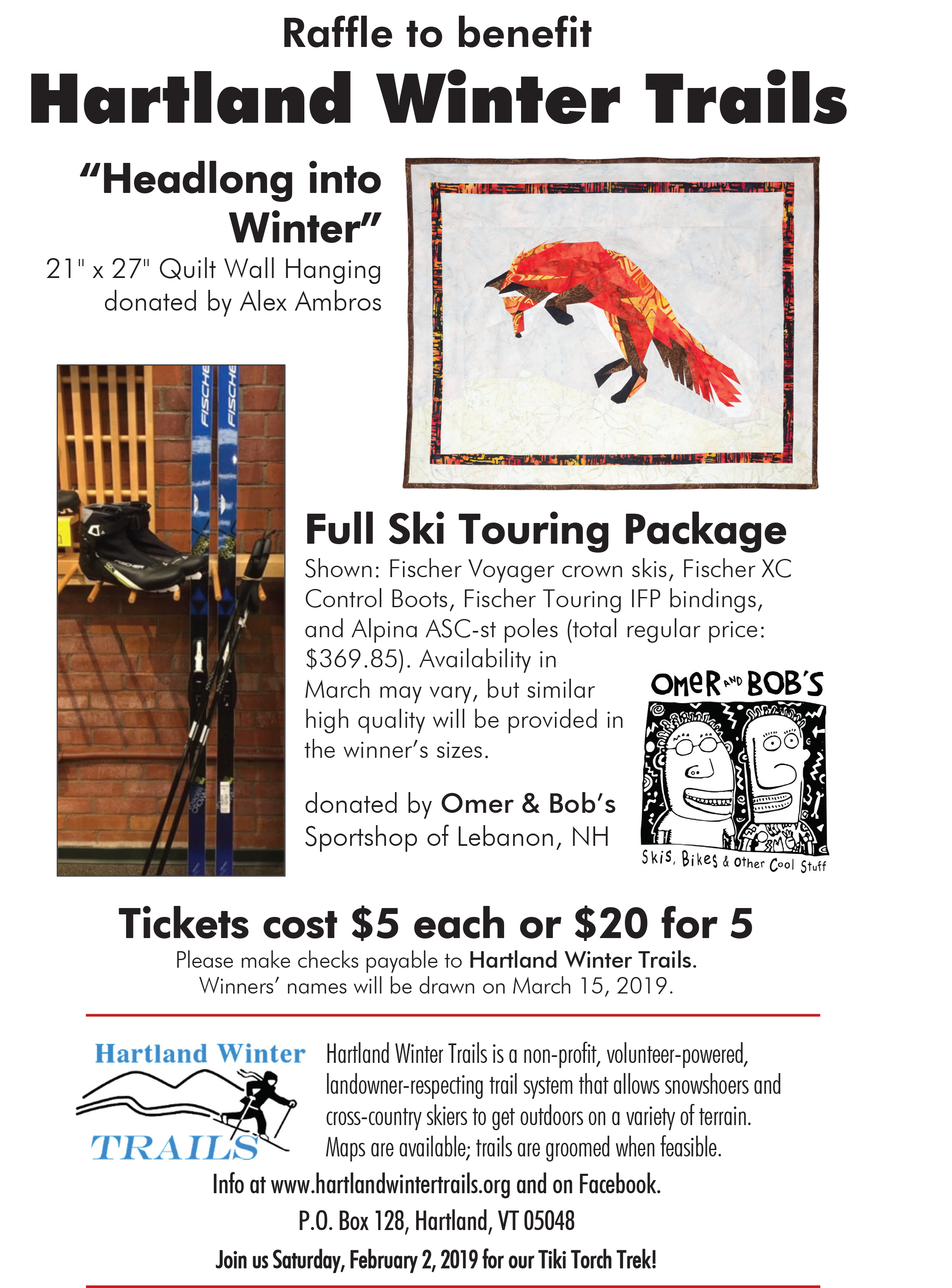 Hartland Winter Trails - The Latest News